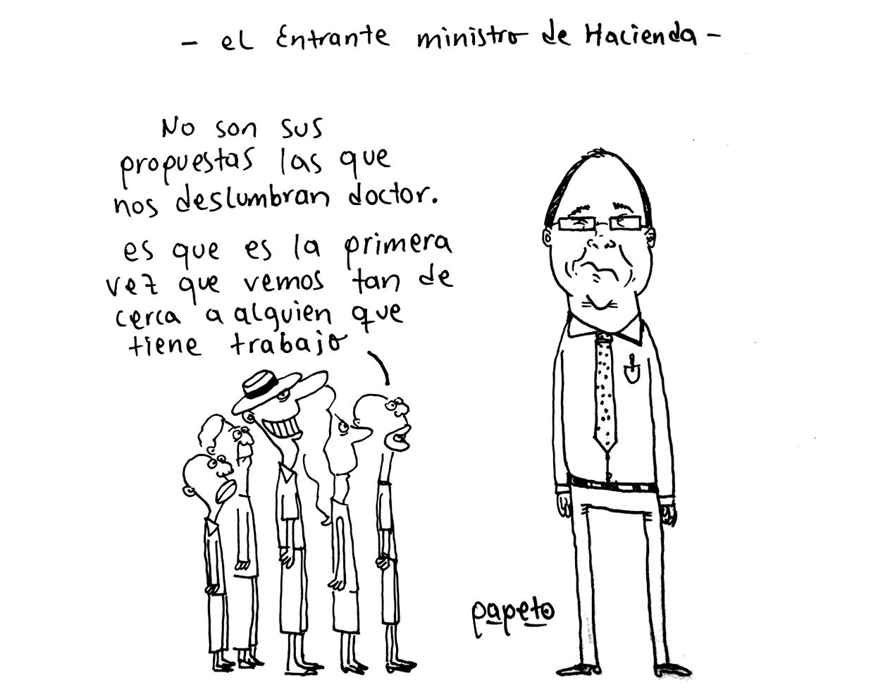 El entrante ministro