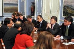 Fabio Giraldo ministros Santos