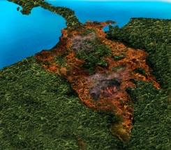 Daniel Quintero incendio forestal afectado