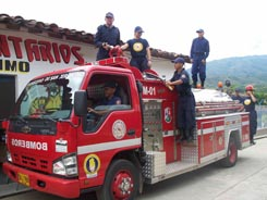 Daniel Quintero incendio forestal bomberos