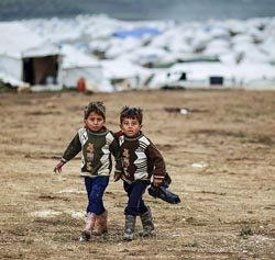 Alberto Patino guerra Siria desplazados
