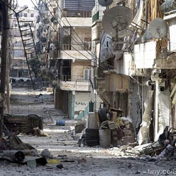 Alberto Patino guerra Siria ruinas