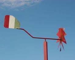 Cesar Ferrari elecciones Italia bandera