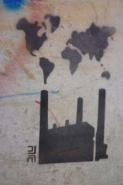 Gabriel Misas desindustrializacion graffiti