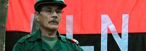 Carlos Medina ELN PAZ comandante