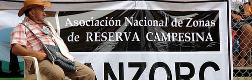 Dario Fajardo encuentro  zonas de reserva campesina