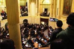 Jorge cuervo gobernabilidad crisis senado plenaria