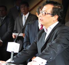 Alcalde Bogota Gustavo Petro