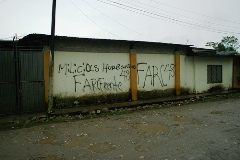 Hernandog FARC Putumayo influencia