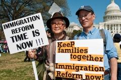 luis mejia inmigración eeuu protesta inmigración