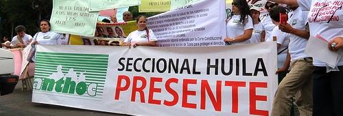 gabriel tobonq paro regiones protesta huila