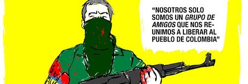 gustavo duncan parapolitica farcpolitica caricatura paramilitar