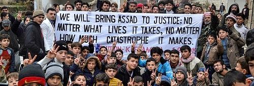 massimo dirico siria protesta assad