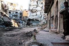 victor currea siria izquierda destruccion alepo
