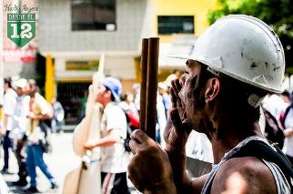 Protesta minera