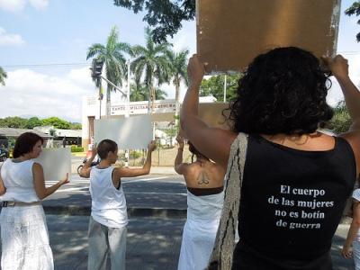 manifestación mujeres