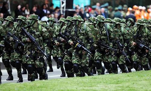 ¿Exguerrilleros en las Fuerzas Militares?