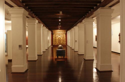 Sala Nuevo Reino de Granada en el Museo Nacional.