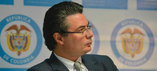 El Ministro de Salud y Protección Social, Alejandro Gaviria.
