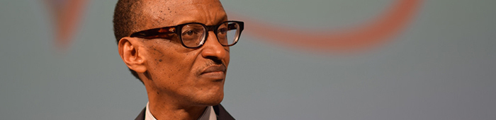 El actual Presidente de Rwanda, Paul Kagame.