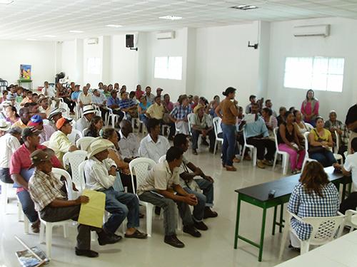 Jornada de restitución de tierras en Fundación, Magdalena.
