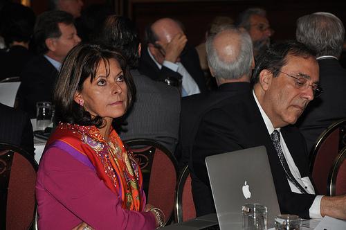 La excandidata a la presidencia por el Partido Conservador, Marta Lucía Ramírez.