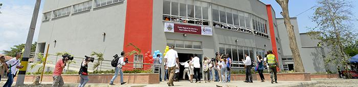 Centro Regional de Atención de a Víctimas en Apartadó, en el departamento de Antioquia.
