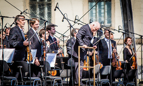 El pianista y director de orquesta Daniel Barenboim.