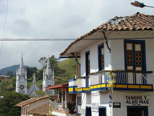 El municipio de Jericó en Antioquia.