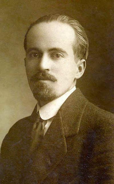 El escritor antioqueño Leon de Greiff.