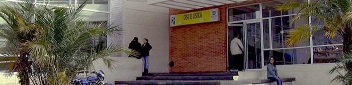 Casa de Justicia en la localidad de Bosa.