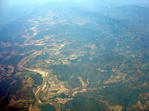 El Río Magdalena en su paso entre los departamentos de Cundinamarca y Tolima.