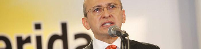 El Fiscal General Eduardo Montealegre.