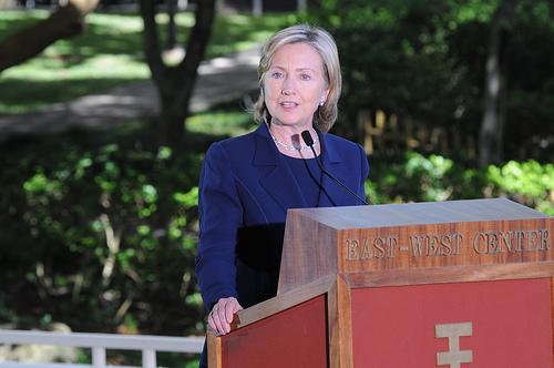 Hillary Clinton durante su periodo como Secretaria de Estado del gobierno Estadounidense.