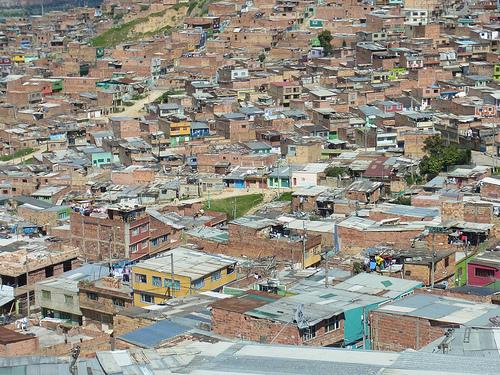 Ciudad Bolívar en Bogotá.