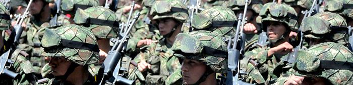 paz soldados