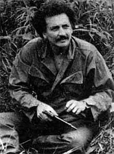 Uno de los fundadores del M-19, Jaime Bateman Cayón.