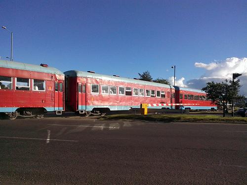 Tren de la Sabana en Bogotá.