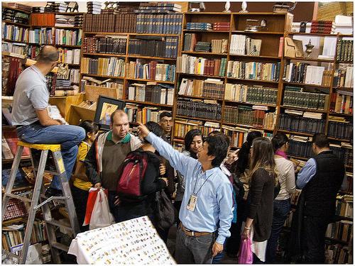 Librería Arteletra en Bogotá.