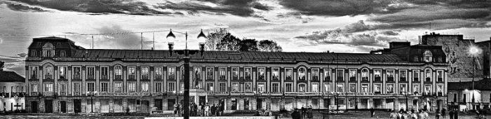El Palacio Liévano, en la Plaza de Bolívar de Bogotá.