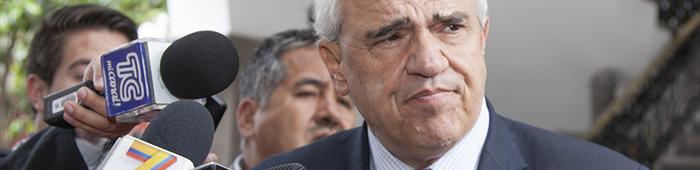 El Expresidente Ernesto Samper Pizano.