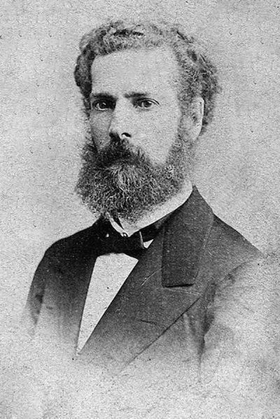 El intelectual y político colombiano José María Samper.