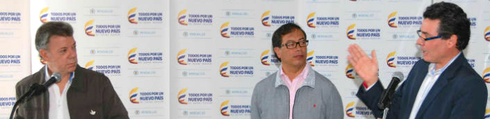 El Presidente Santos ordenó la suspensión de las fumigaciones con glifosato.