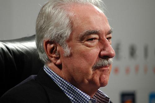 Álvaro Mutis, poeta y contemporáneo de Carlos Obregón.