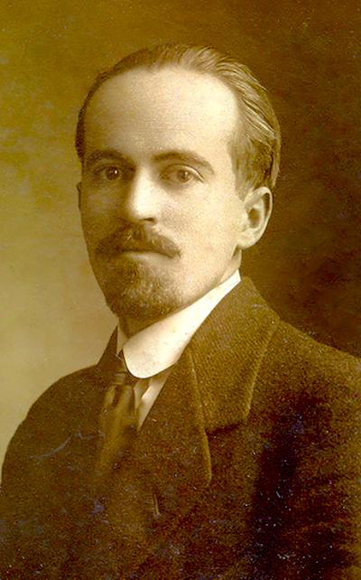 El poeta y codirector de la revista Mito, Leon de Greiff.