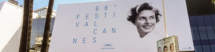 Ingrid Bergman fue imagen del 68º Festival de Cannes, realizado del 13 al 24 de mayo de este año.