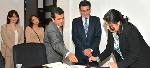 El Ministro de Salud Alejandro Gaviria Uribe.