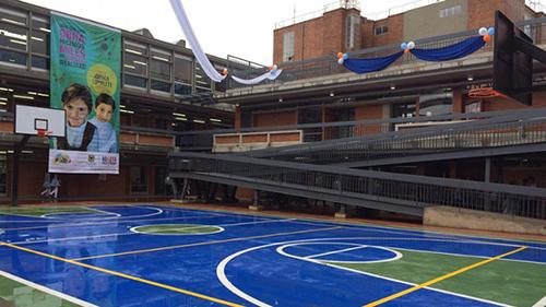 Nuevas instalaciones del colegio Oficial Bernardo Jaramillo en la localidad de Tunjuelito de Bogotá.