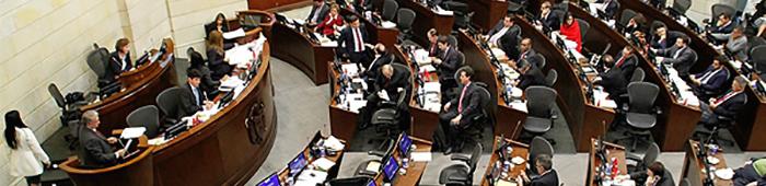 El Senado aprobó en plenaria el Plan Nacional de Desarrollo el pasado 6 de mayo de 2015.