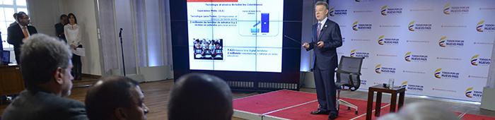 El Presidente Santos afirmó el pasado 12 de mayo que la clase media constituía el 55% del país.